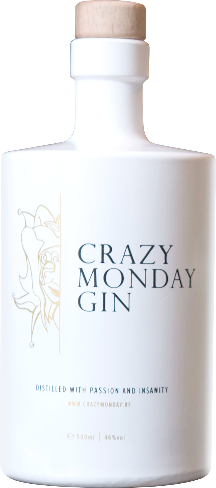 Crazy Monday Gin Fles